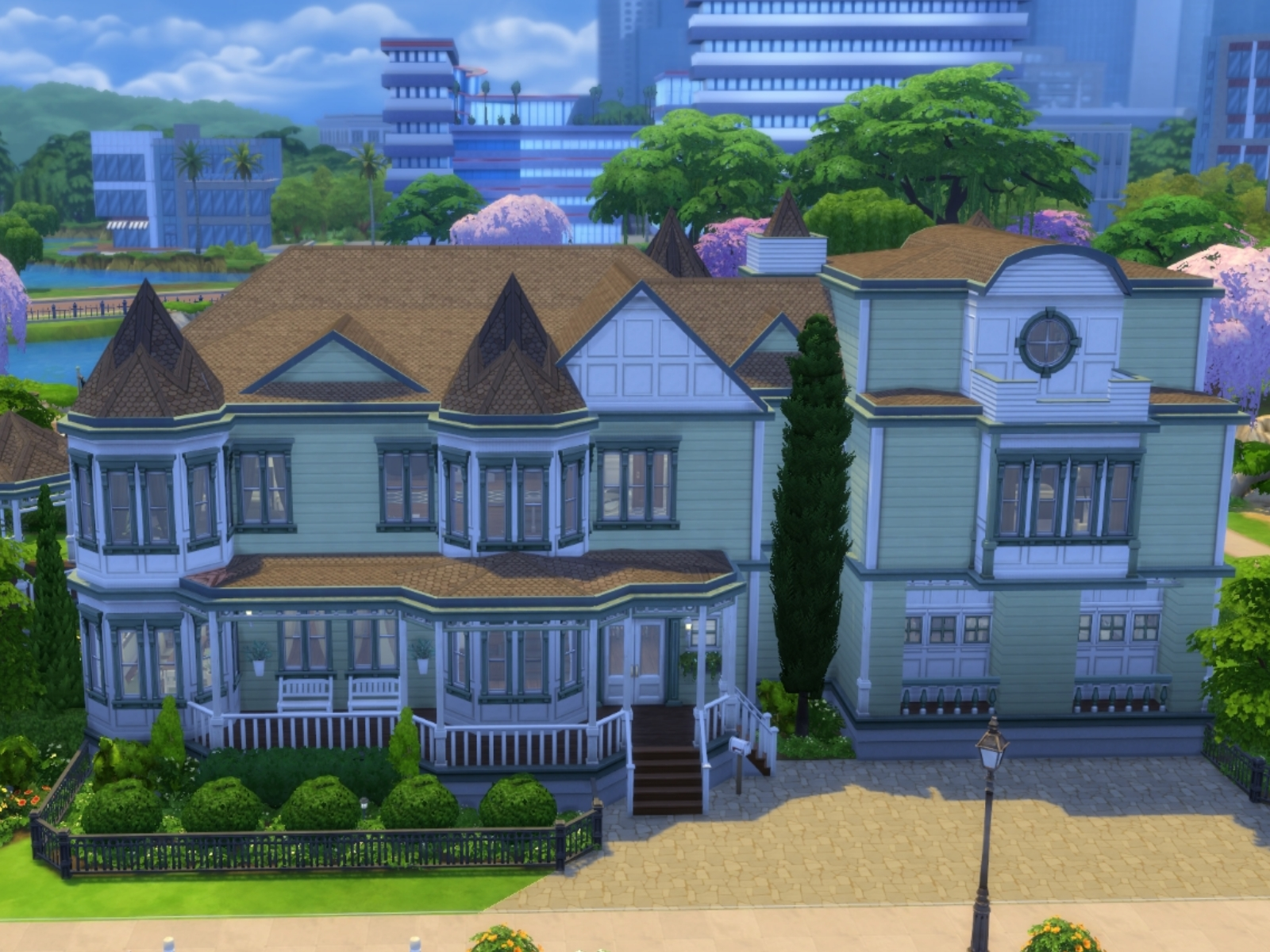 The Sims 4 Houses  www.galleryhip.com - The Hippest Pics
